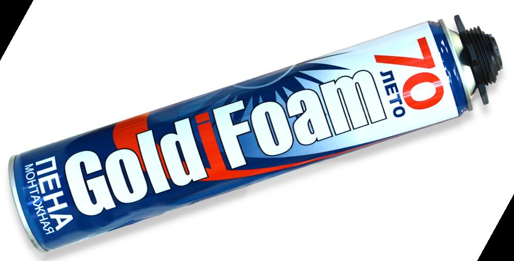 Монтажная пена GoldFoam
