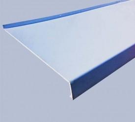 Отлив ПВХ белый 25 см