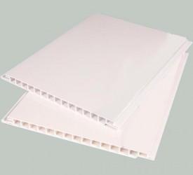 Панель ПВХ белая глянцевая 6,0×0,375 м