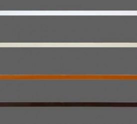 Торцевая заглушка белая матовая