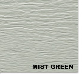 Канадский виниловый сайдинг Mitten MistGreen 3660×230 мм