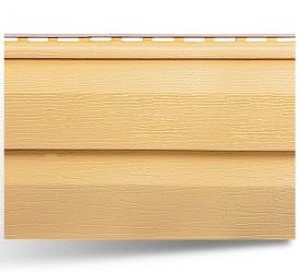 Виниловый сайдинг «KANADA плюс Престиж» Золотистый 3660×230 мм