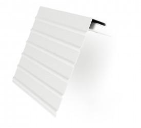 Ветровая доска J-фаска Белая