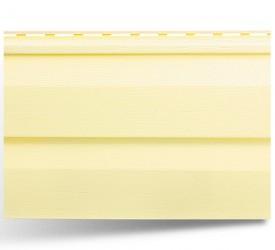 Виниловый сайдинг «Альта-Сайдинг» Лимонный 3660×230 мм