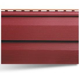 Акриловый сайдинг «KANADA плюс Премиум» Красный 3660×230 мм