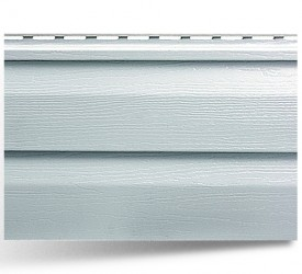 Виниловый сайдинг «Альта-Сайдинг» Светло-серый 3660×230 мм