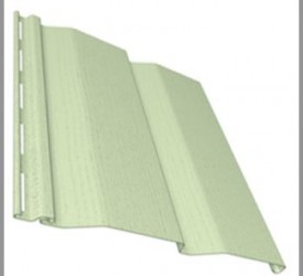 Сайдинг «Ю-Пласт» Зеленый 3050×230 мм