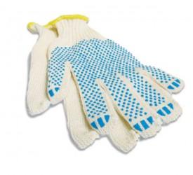 Рабочие перчатки с точечным ПВХ покрытием