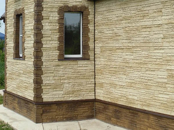 Цокольный Сайдинг Альта-профиль Коллекция Скалистый камень
