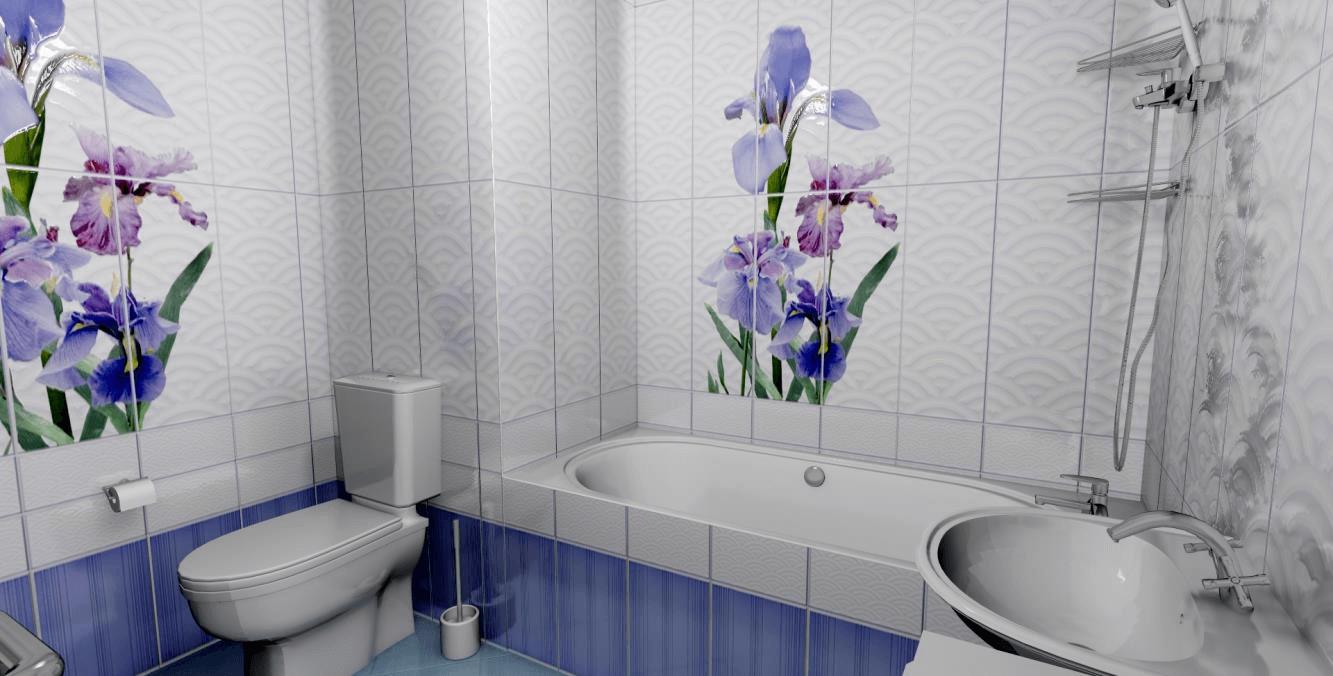картинки ванных комнат панели для