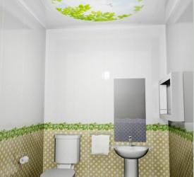Потолочная 3Д панель Новита Голуби 150×180 см