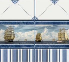 Панель ПВХ UNIQUE Корабли