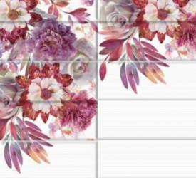 Панель ПВХ UNIQUE Цветочный рай
