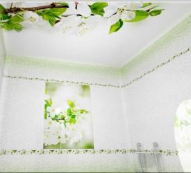 Потолочная 3Д панель Новита Вишня 200×250 см