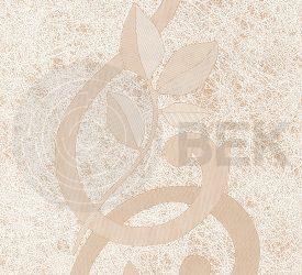 Панель ПВХ Век Шелкография Коричневая 9502