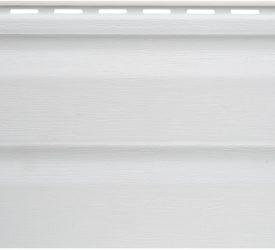 Сайдинг виниловый Аляска белый, 3000×200 мм