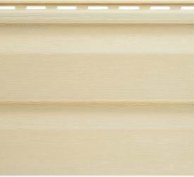 Сайдинг виниловый Аляска кремовый, 3000×200 мм