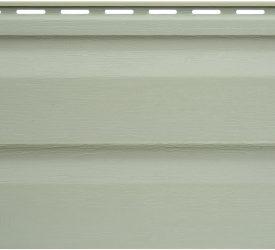 Сайдинг виниловый Аляска салатовый, 3000×200 мм