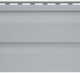 Сайдинг виниловый Аляска серый, 3000×200 мм