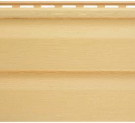 Сайдинг виниловый Аляска желтый, 3000×200 мм