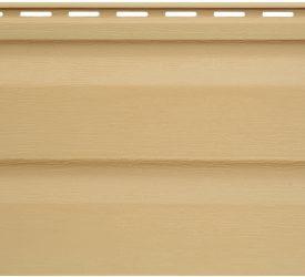 Сайдинг виниловый Аляска золотой, 3000×200 мм