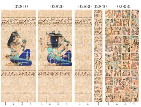Пластиковые панели Панда, коллекция Египет