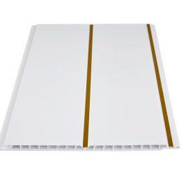 Потолочные панели ПВХ H-1-6 Золото