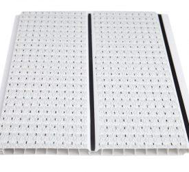 Потолочные панели ПВХ H-1-15 Штрих Грей
