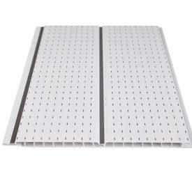 Потолочные панели ПВХ H-1-16 Штрих Белый
