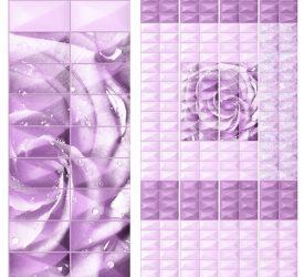 Панель ПВХ UNIQUE Садали Фиолетовый